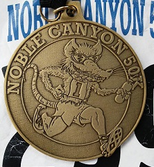 Noble Canyon 50k