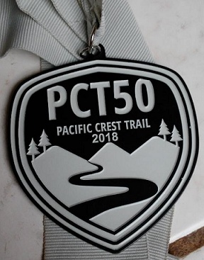 PCT 50 Medal