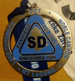 SD 100 Finisher Medal